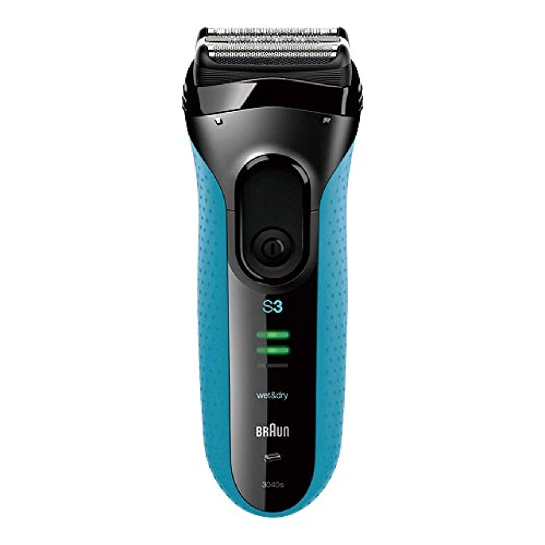 致命的な処方アサートブラウン シリーズ3 メンズシェーバー 3040s-P 3枚刃 お風呂剃り可