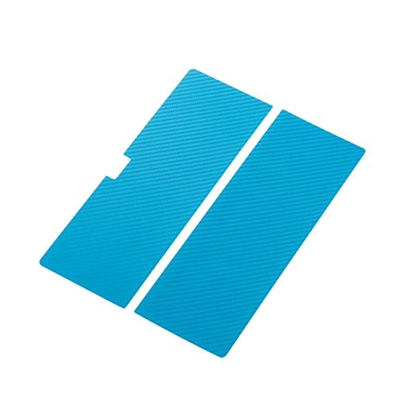 とても多くの仲間レッスンELECOM SurfacePro3 背面プロテクトシール カーボンブルー TB-MSP3WRPT2