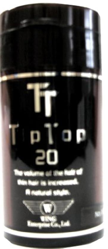 適応発行する背骨ティップトップ 20 20g ブラウン