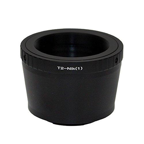 (バシュポ) Pixco マウントアダプター T Mount T-2 T-ring レンズ-Nikon 1カメラ対応 J5 J4 S2 V3 AW1 J3 J2 J1 V2 S1 V1
