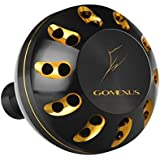 GOMEXUS Power Knob Compatible for Shimano Stella SW Socorro SW Penn Clash Conflict 5000 6000 8000 Direct Spinning Reel Handle Replacement Direct 45mm Metal