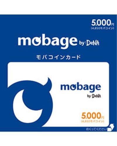 Mobage モバコインカード 5000