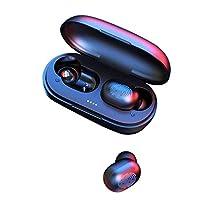 Cimaybeauty Bluetooth 5.0ヘッドセットTWSワイヤレスイヤホンミニイヤフォンステレオヘッドフォン2019