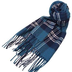 (ロキャロン) Lochcarron of scotland英国スコットランド製 ラムズウール100% タータンチェックマフラー 英国王室ご愛用 (アールオブセントアンドリュース)