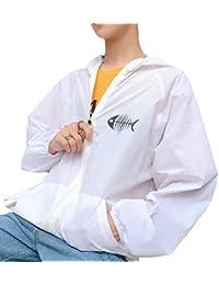 Keaac メンズカジュアル通気パーカー超薄型日焼け止めジャケットコートアウターウェア