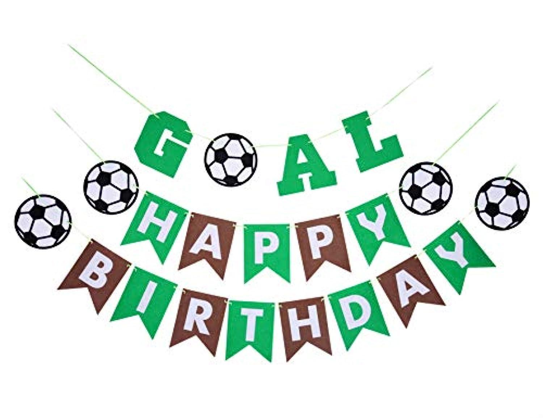 World Cup Soccer banner-誕生日パーティーホオジロバナー – スポーツパーティーデコレーション – Happy誕生日
