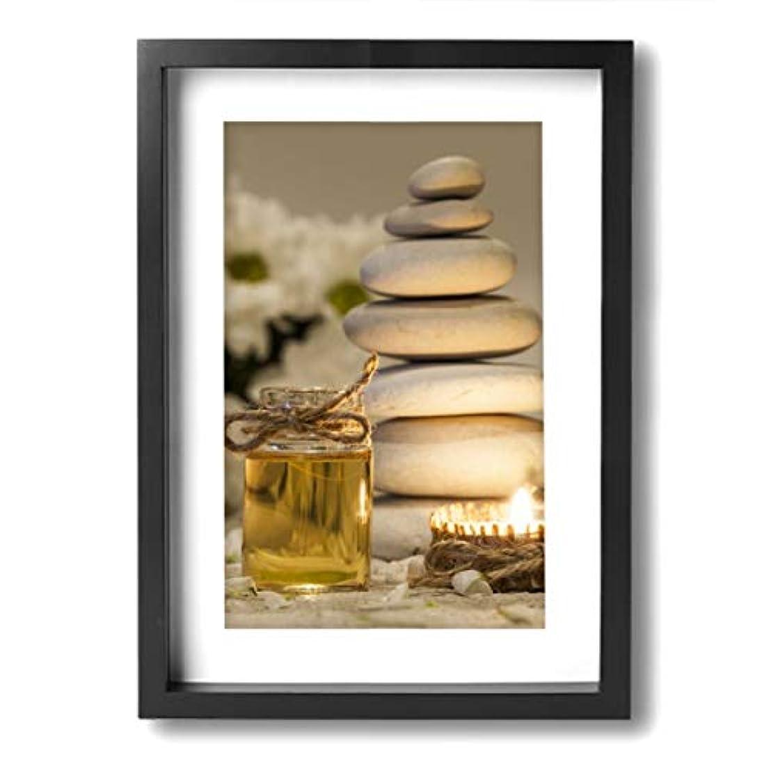 透明にアライメント圧縮魅力的な芸術 20x30cm Chamomile Essential Oil Chamomile Flowers キャンバスの壁アート 画像プリント絵画リビングルームの壁の装飾と家の装飾のための現代アートワークハングする...