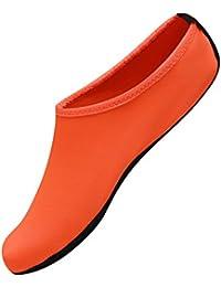 Nclon 男女兼用 ウォーターシューズ 速乾性,裸足 水履物 ウォーターソックス アクアシューズ 通気性 通気性 Yoga ビーチ ウォータースポーツ- S(33-33EU)