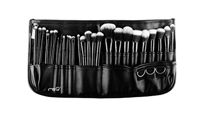 傘衝動聖人(メイクアップエーシーシー)MakeupAcc プロ仕様メイクアップブラシ29本セット 高級メイクブラシ 専門の全セットメイクブラシ ウエストポーチ付き 専門の化粧師 化粧筆 (01) [並行輸入品]