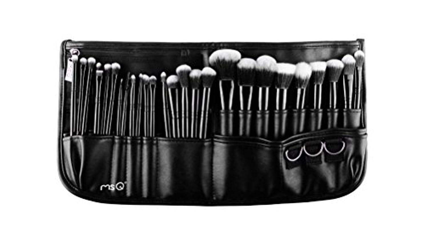 グレートオークスリンク枯渇する(メイクアップエーシーシー)MakeupAcc プロ仕様メイクアップブラシ29本セット 高級メイクブラシ 専門の全セットメイクブラシ ウエストポーチ付き 専門の化粧師 化粧筆 (01) [並行輸入品]