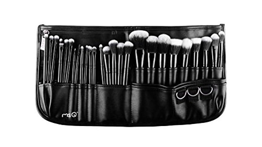 計り知れない賞ファンタジー(メイクアップエーシーシー)MakeupAcc プロ仕様メイクアップブラシ29本セット 高級メイクブラシ 専門の全セットメイクブラシ ウエストポーチ付き 専門の化粧師 化粧筆 (01) [並行輸入品]
