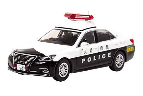 1/43 RAI'S トヨタ クラウン ロイヤル (GRS210) 2019 大阪府警察機動警ら隊G20大阪サミット特別警戒警ら車両(204)