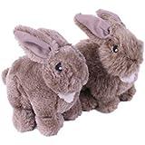 Petface Rosie Rabbit Squeak Dog Toy
