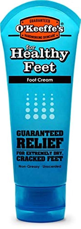 刺繍フラッシュのように素早くなのでオキーフス ワーキングフィートクリーム チューブ  85g 1点 (並行輸入品) O'Keeffe's Working Feet Tube Cream 3oz
