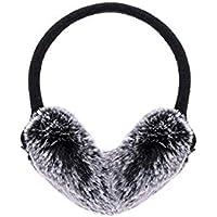 MINRUIGONGMAO-O Ear Protectors, Plush Earmuffs, Travel Sports Earmuffs, Winter Foldable Outdoor Products, Bow Plush Women Winter Protective Earmuffs Ear Protectors (Color : Beige)
