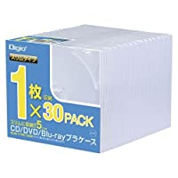 ナカバヤシ CDプラケ-ススリム30パック CD-084-30 00025126【まとめ買い3個セット】