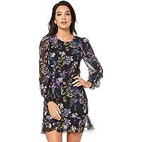 Cooper St Women's Le Jardin Long Sleeve Mini Dress