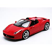 【MATTEL/ELITE】1/18 フェラーリ 458 Italia スパイダー レッド
