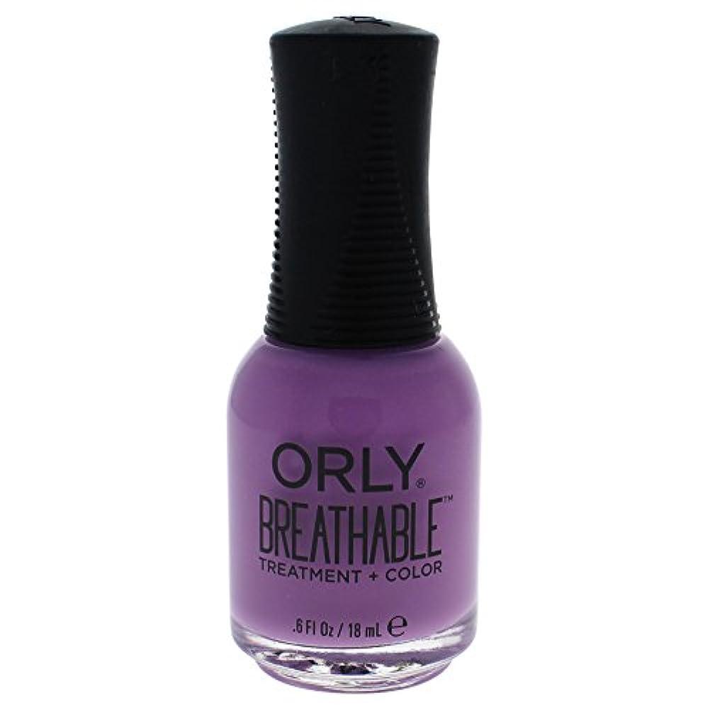 バター異常連合Orly Breathable Treatment + Color Nail Lacquer - TLC - 0.6oz / 18ml