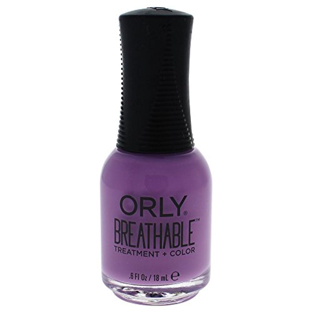 のため明確な欠員Orly Breathable Treatment + Color Nail Lacquer - TLC - 0.6oz / 18ml