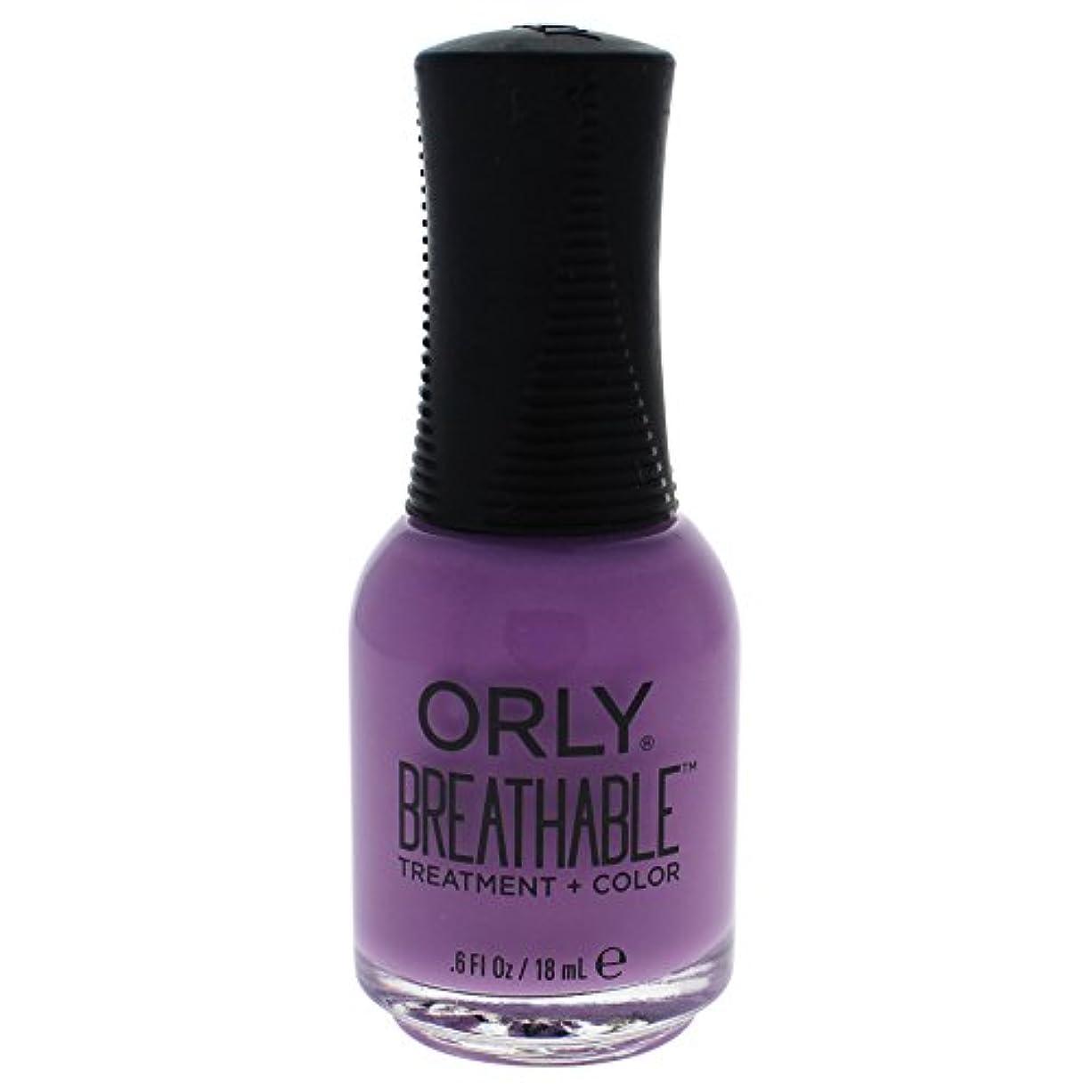 突撃ただOrly Breathable Treatment + Color Nail Lacquer - TLC - 0.6oz / 18ml