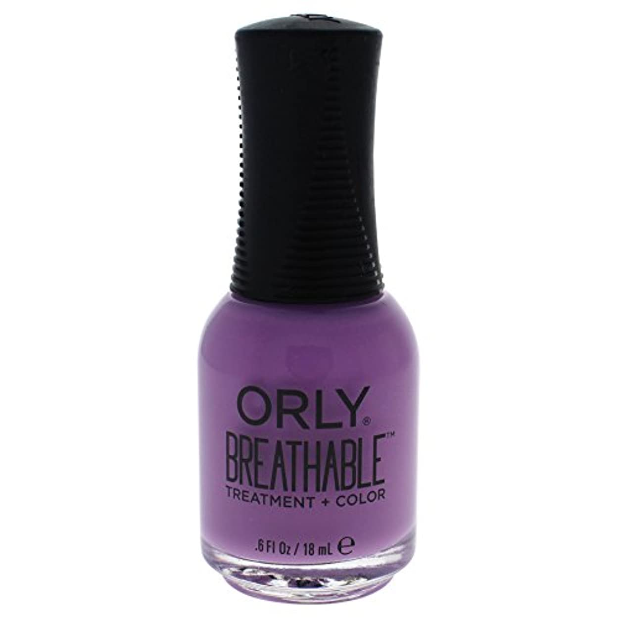 酸有効な災難Orly Breathable Treatment + Color Nail Lacquer - TLC - 0.6oz / 18ml