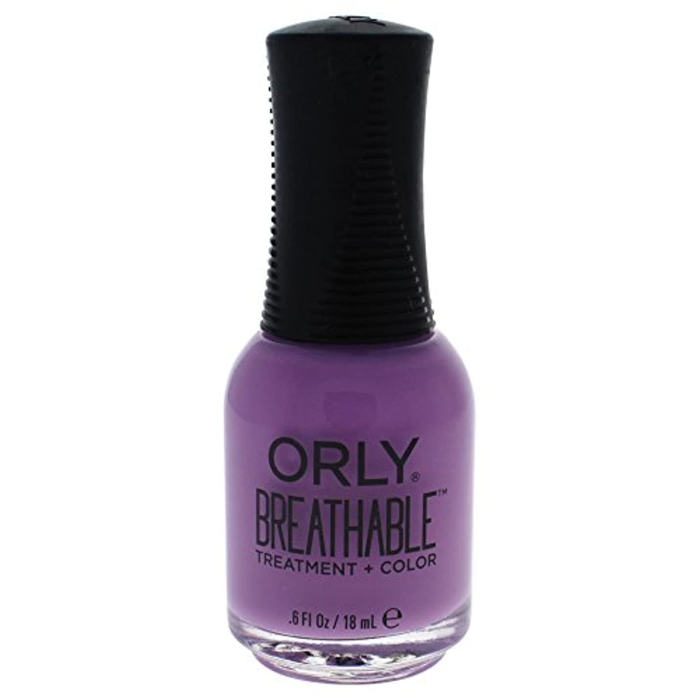 故障中にぎやか橋Orly Breathable Treatment + Color Nail Lacquer - TLC - 0.6oz / 18ml