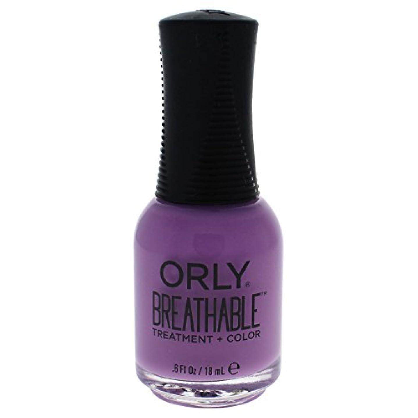 蒸留見物人貴重なOrly Breathable Treatment + Color Nail Lacquer - TLC - 0.6oz / 18ml