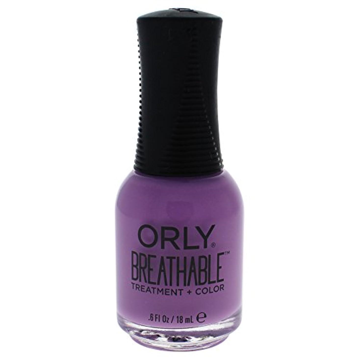 誘導フォームコマンドOrly Breathable Treatment + Color Nail Lacquer - TLC - 0.6oz / 18ml