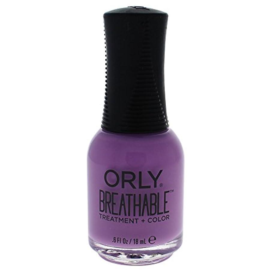 引退した放射能先例Orly Breathable Treatment + Color Nail Lacquer - TLC - 0.6oz / 18ml