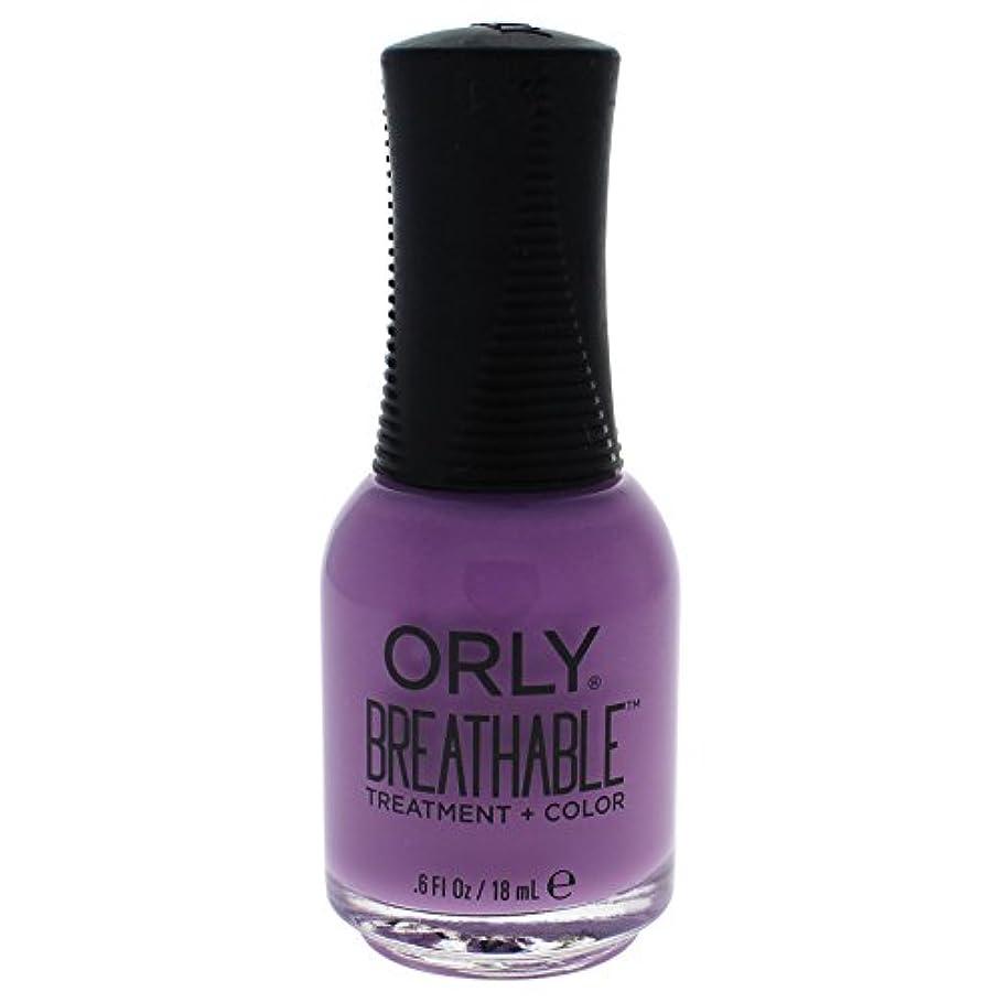彼女の荒廃する露骨なOrly Breathable Treatment + Color Nail Lacquer - TLC - 0.6oz / 18ml