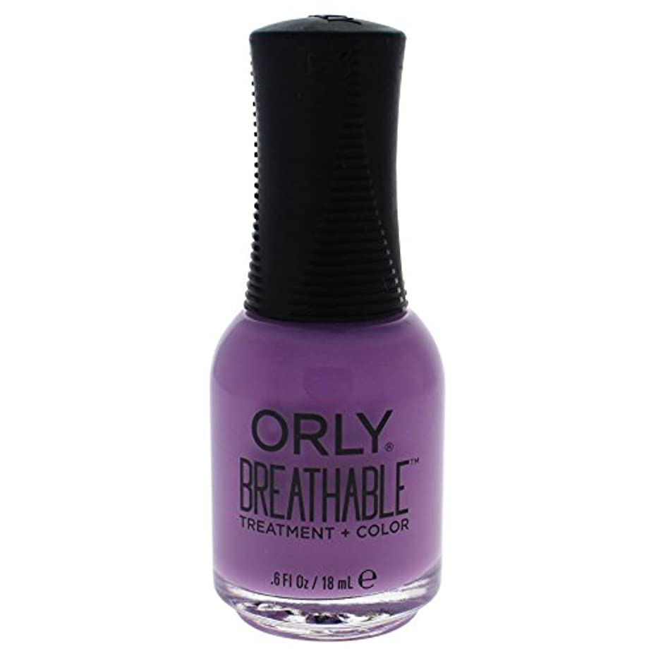 不適当フェード販売員Orly Breathable Treatment + Color Nail Lacquer - TLC - 0.6oz / 18ml