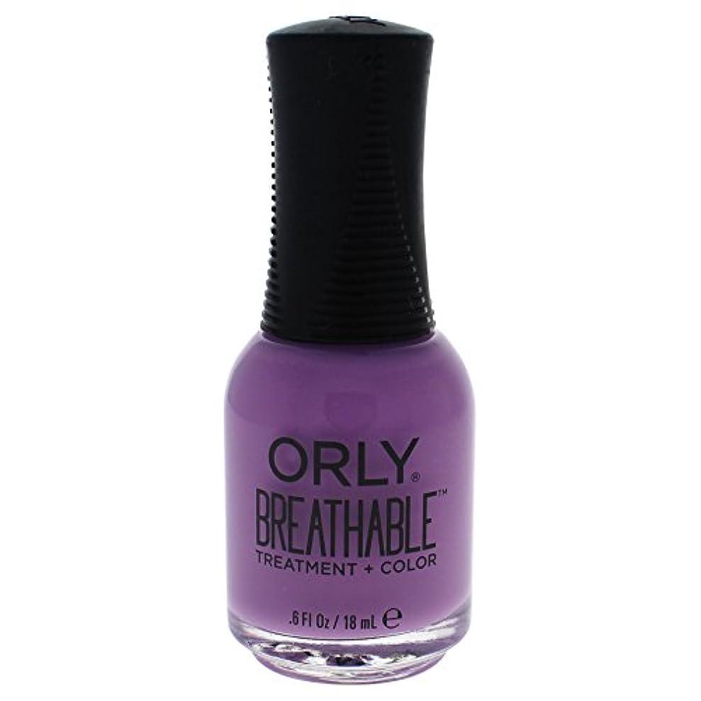クリップ蝶マート支出Orly Breathable Treatment + Color Nail Lacquer - TLC - 0.6oz / 18ml