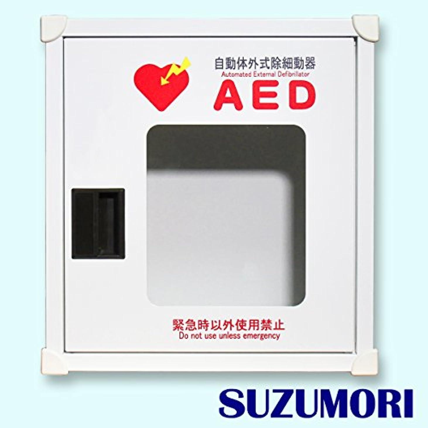 広告動かないバラエティAED収納ボックス JYO-CN1 ブザーなし 【壁面設置タイプ】