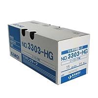 カモ井 マスキングテープ No.3303-HG シーリング用 15mm×18m 80巻入 [養生テープ]