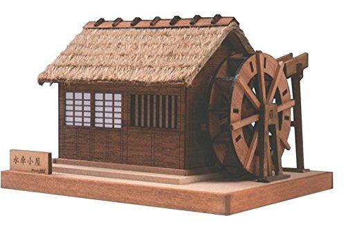 ウッディジョー ミニ建築 No.2 水車小屋 木製模型