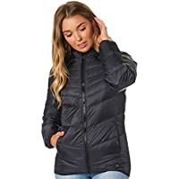 Rip Curl Women's Anti Series Altitude Jacket Packable Pillow Pu Blue