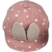 Plus Nao(プラスナオ) 子供用 帽子 キャップ 帽子 ウサ耳 耳付き ウサギ ドット柄 水玉模様 おしゃれ 可愛い かわいい キュート 赤ちゃん