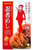 味覚糖 忍者めし 梅かつお味 20g×10袋 ※新規格品※