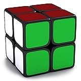HAKATA スピードキューブ 2x2x2 【6面完成攻略書付き】 立体パズル 最新ver2.0世界基準配色 ポップ防止 回転スムーズ 競技専用 ストレス解消 大人 子供 おもちゃ パズルスタンドつき(black)