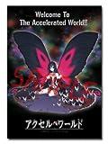 クワッドエレメンツ 超3Dポスター アクセル・ワールド「黒雪姫」