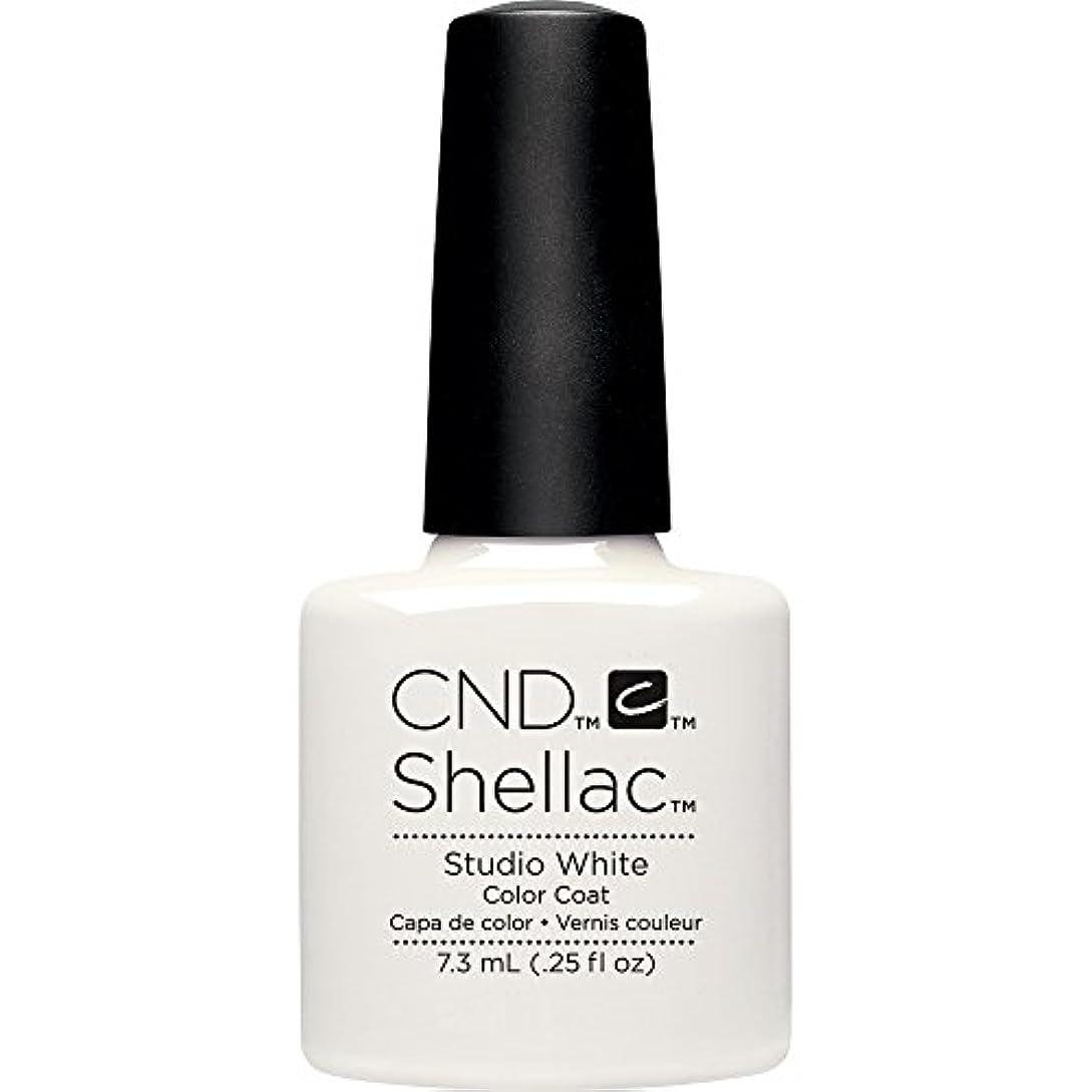 ひどいパテ温室CND(シーエヌディー) シェラック UVカラーコート7.3mL 526 Studio White(マット)