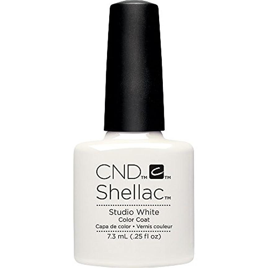 CND(シーエヌディー) シェラック UVカラーコート7.3mL 526 Studio White(マット)