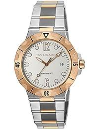 [ブルガリ]BVLGARI 腕時計 ディアゴノプロフェッショナル シルバー文字盤 自動巻き DP41WSPGSD メンズ 【並行輸入品】