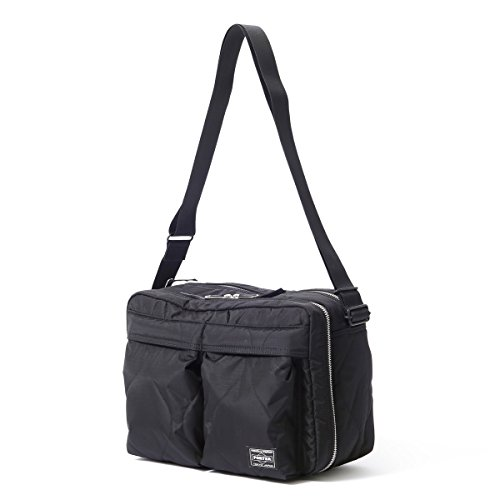 (ヘッド・ポーター) HEAD PORTER | CLAYTON | SHOULDER BAG (L) (BLACK)