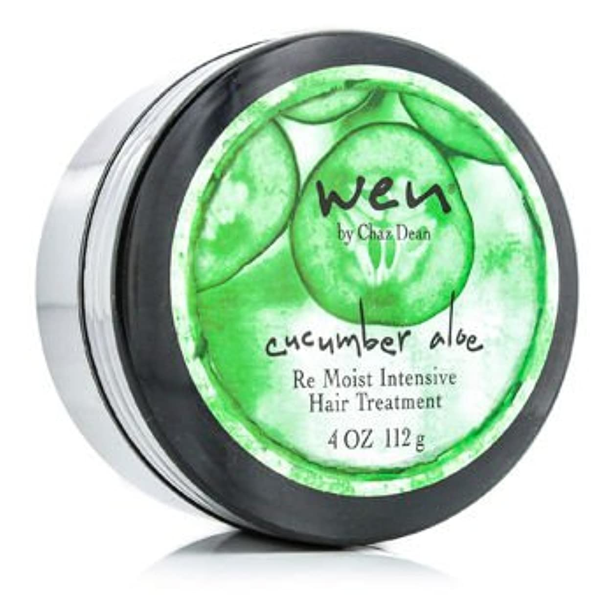 軽蔑ロケット頬骨[Wen] Cucumber Aloe Re Moist Intensive Hair Treatment 112g/4oz