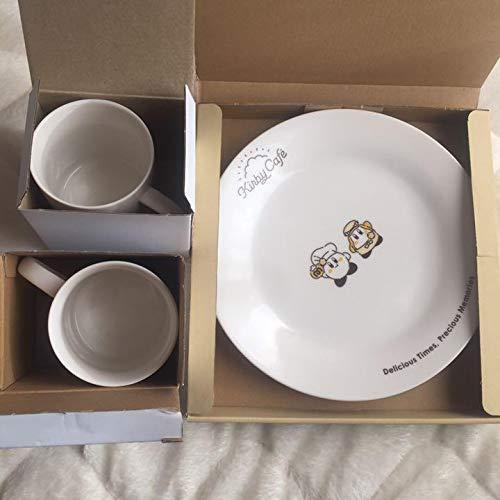 カービィカフェ お皿 メニュー 注文限定 プレート マグカップ×2