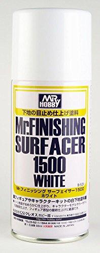 【 フィニッシングサーフェイサー 1500 ホワイト スプレータイプ 】 CSB529/ キャラクターモデルやカーモデ...