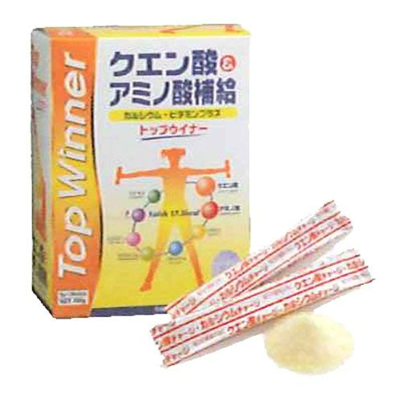 バスト読書乳剤トップウイナー アミノ酸?クエン酸飲料 5g×30本入 【スカイ?フード】