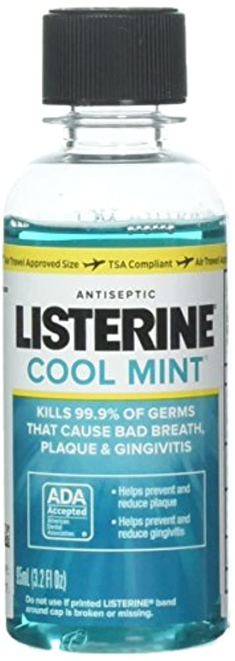許可するバージンクライストチャーチListerine Antiseptic Mouthwash, Cool Mint 3.2 oz (Pack of 10) by Listerine